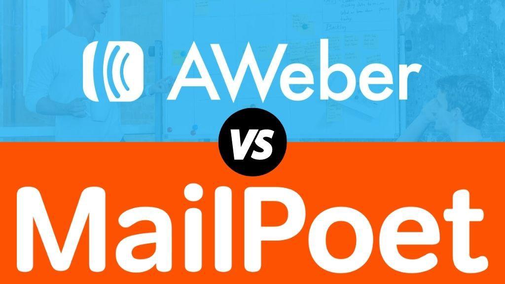Aweber vs MailPoet